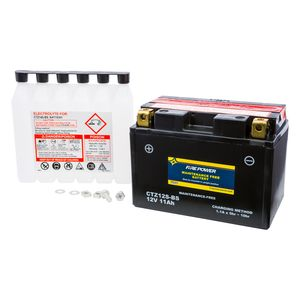 Fire Power Maintenance Free Battery CTZ12S-BS