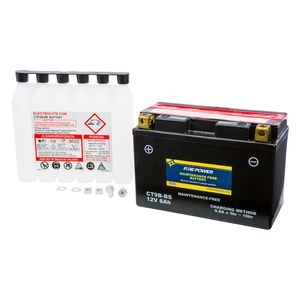 Fire Power Maintenance Free Battery CT9B-BS