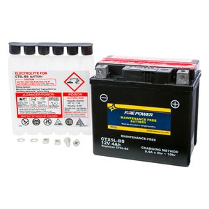 Fire Power High Performance Maintenance Free AGM Battery CTX5L-BS