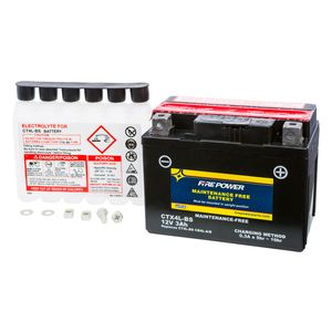 Fire Power Maintenance Free Battery CTX4L-BS