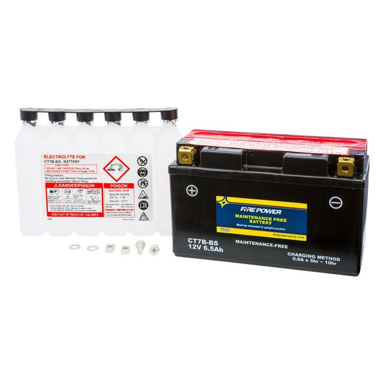 Fire Power Maintenance Free Battery CT7B-BS