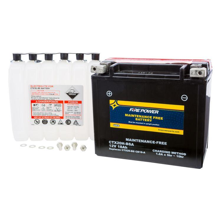Fire Power Maintenance Free Battery CTX20H-BSA