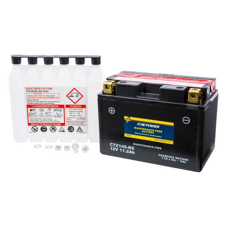 Fire Power Maintenance Free Battery CTZ14S-BS
