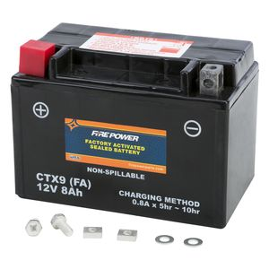 Fire Power Factory Activated Battery CTX9-BS