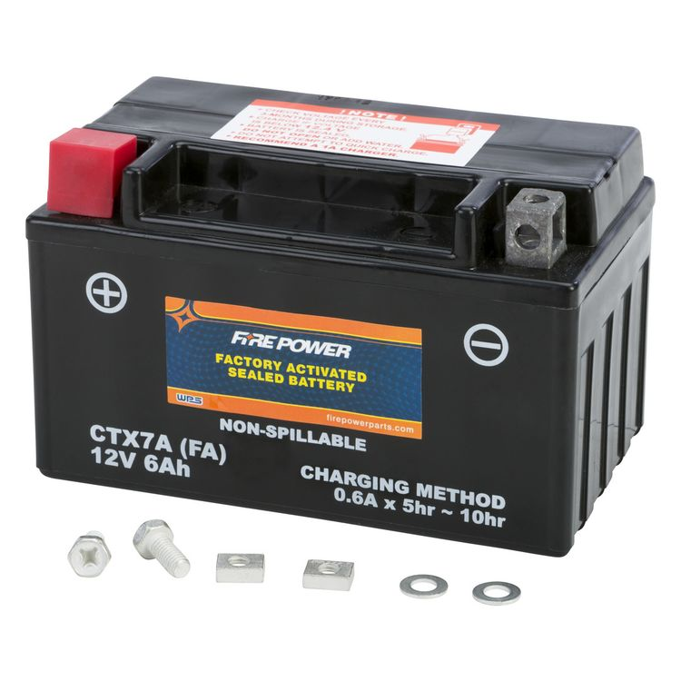 Fire Power Factory Activated Battery CTX7A-BS