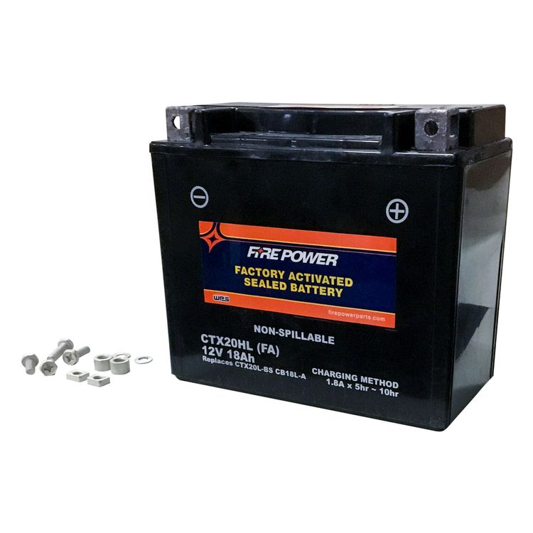 Fire Power Factory Activated Battery CTX20HL-BS