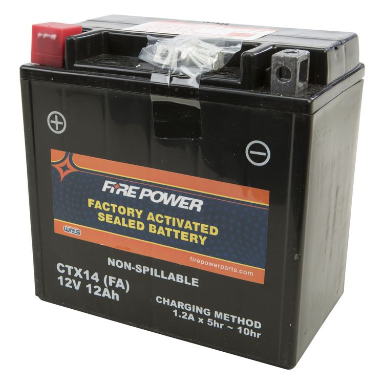 Fire Power Factory Activated Battery CTX14-BS