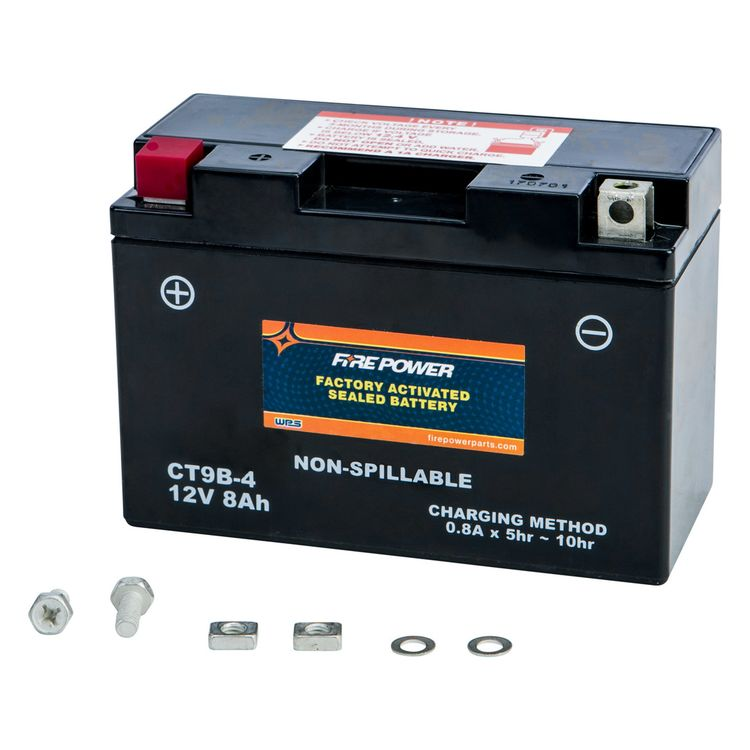 Fire Power Factory Activated Battery CTZ8V