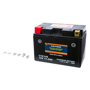 Fire Power Factory Activated Battery CTZ14S