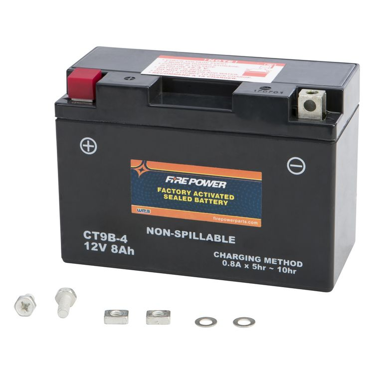 Fire Power Factory Activated Battery CT9B-4