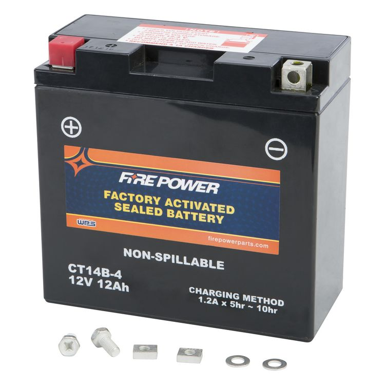Fire Power Factory Activated Battery CT14B-4