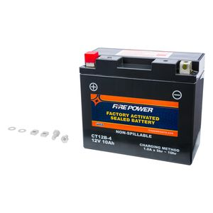 Fire Power Factory Activated Battery CT12B-4