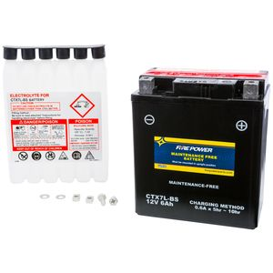 Fire Power Maintenance Free Battery CTX7L-BS