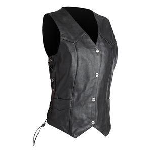 Street & Steel Highway Women's Leather Vest