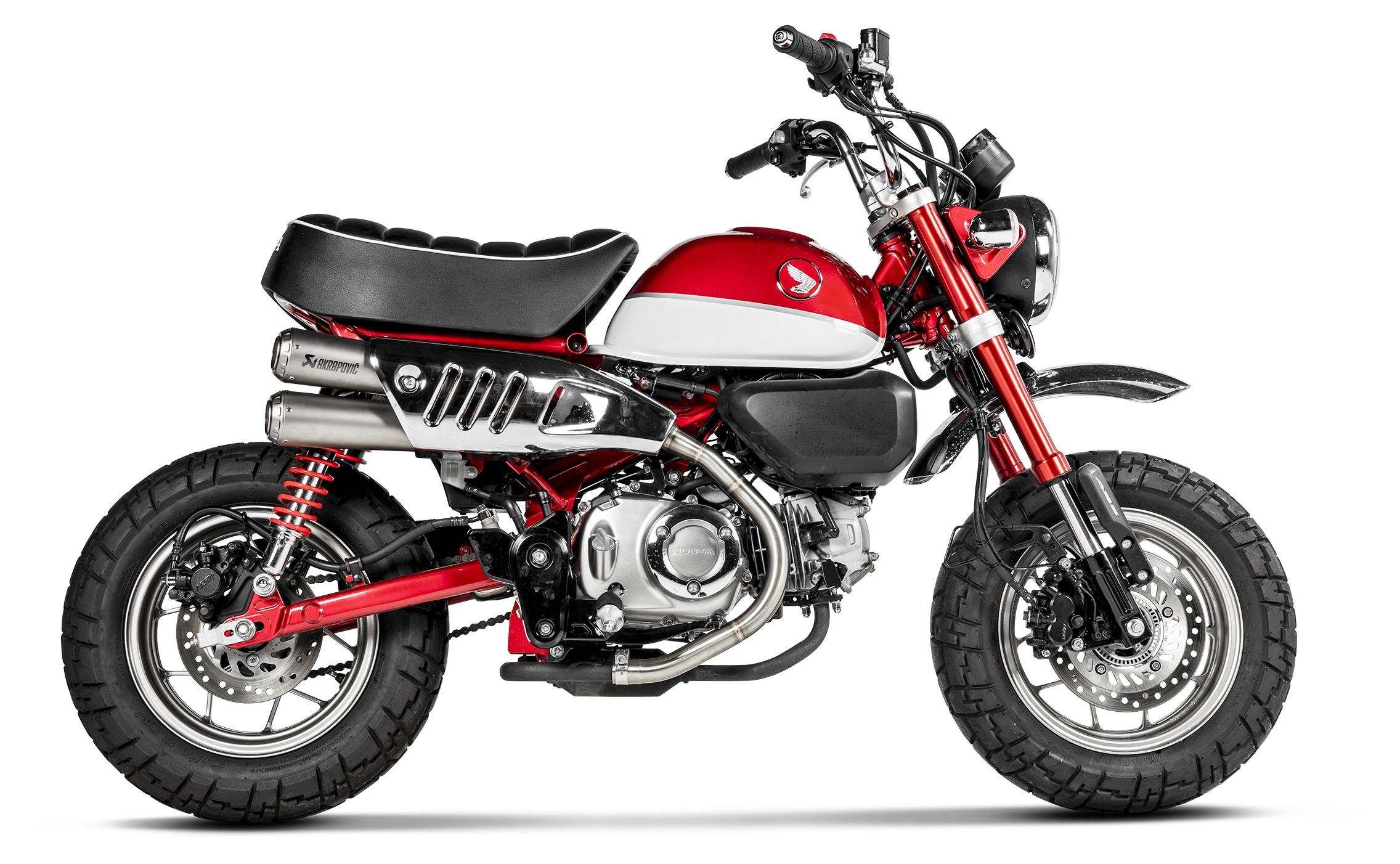 Akrapovic Gp Slip On Exhaust Honda Monkey 2019 10 62 42 Off