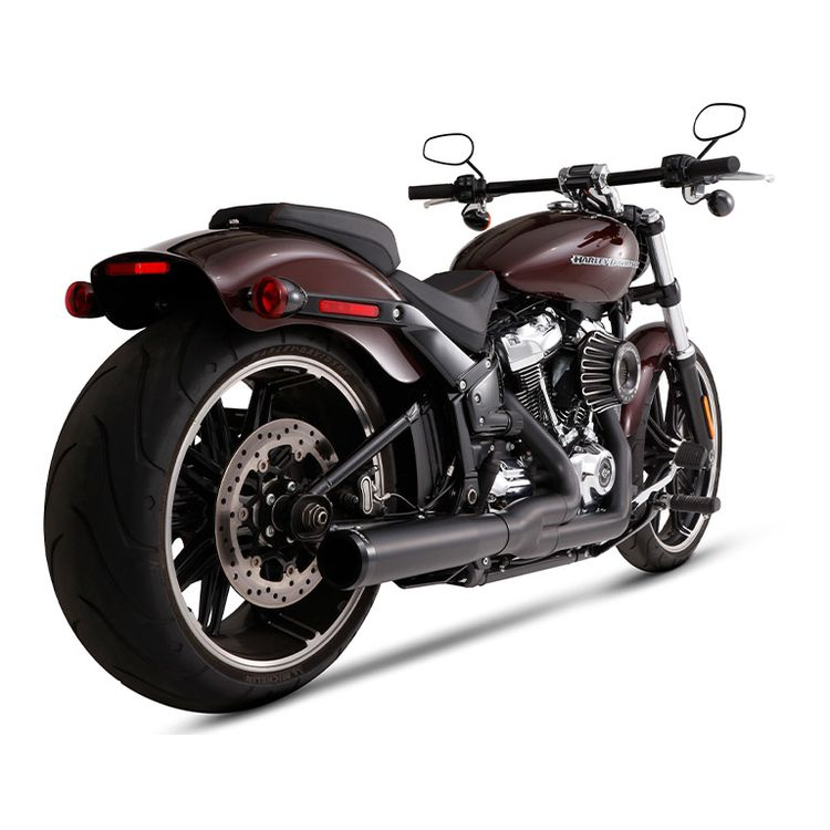 Rinehart 2-Into-1 Exhaust For Harley Softail 2018-2020