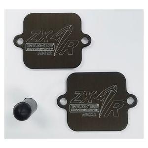 Graves Block Off Plates Kawasaki ZX6R / ZX636 2019-2021