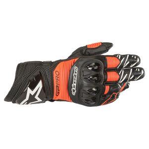 Alpinestars GP Plus R Motorcycle Motorbike Sports Gloves Black White Fluo
