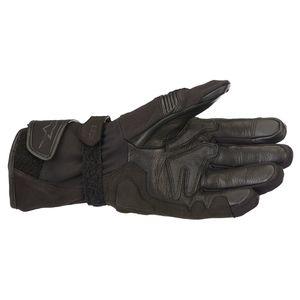 Black Alpinestars Stella Ladies M-56 Drystar Motorcycle Gloves WP