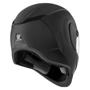 ICON ALLIANCE DARK Helmet Medium MD Rubatone DOT ECE Plus FREE TINTED VISOR