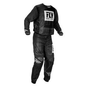 Fly Racing Dirt Youth Kinetic Mesh Noiz Jersey