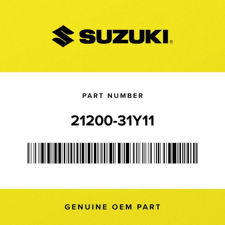 Suzuki GEAR ASSY, PRIMARY DRIVEN 21200-31Y11