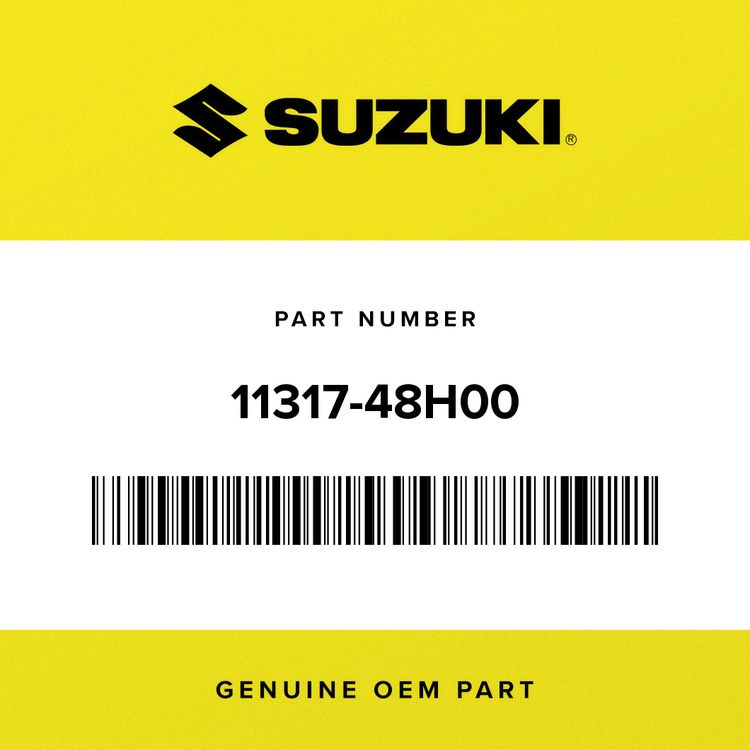 Suzuki PLATE, OIL SEPARATOR 11317-48H00