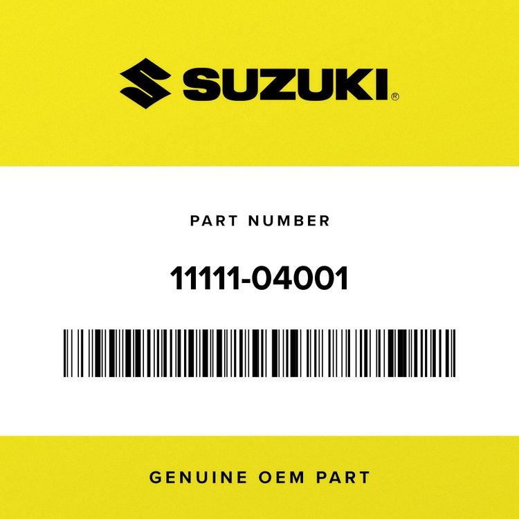 Suzuki HEAD, CYLINDER 11111-04001