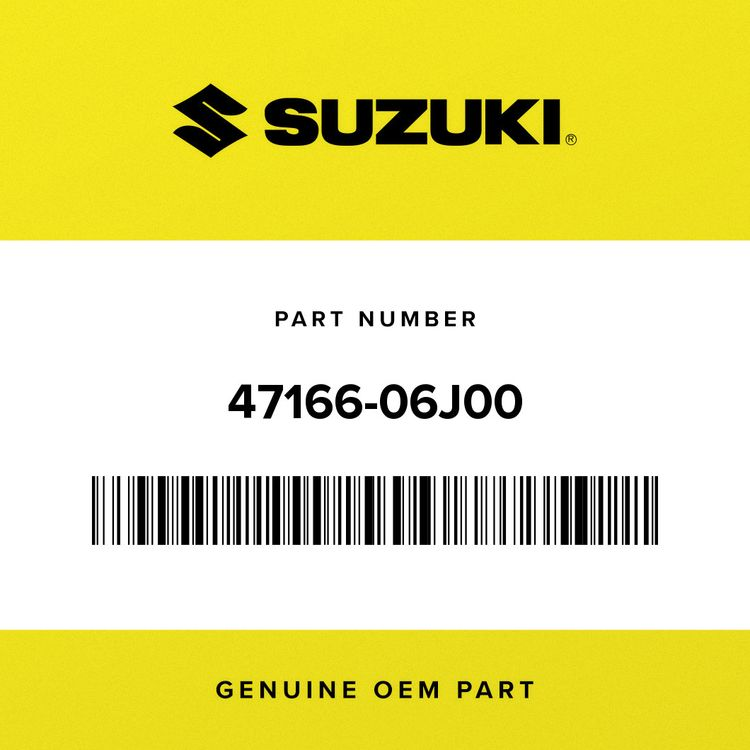 Suzuki SHIELD, SIDE COVER RH 47166-06J00
