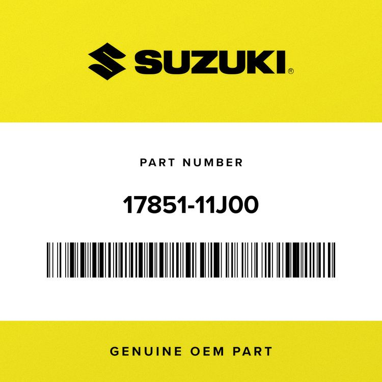 Suzuki HOSE, RADIATOR INLET 17851-11J00