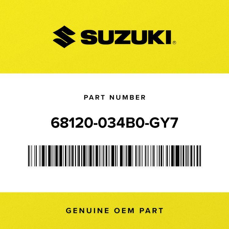 Suzuki TAPE SET, TANK COVER 68120-034B0-GY7