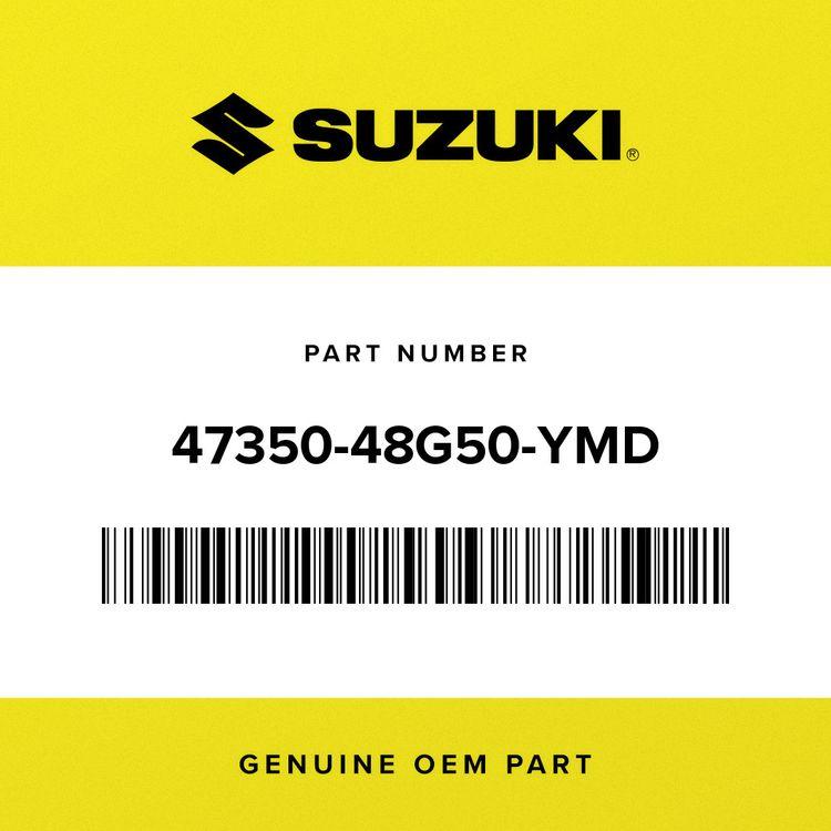 Suzuki COVER, FRAME HEAD RH (SILVER) 47350-48G50-YMD