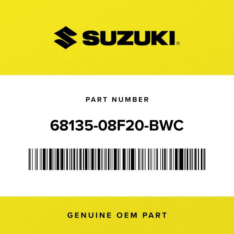 Suzuki TAPE, FRAME COVER RH 68135-08F20-BWC