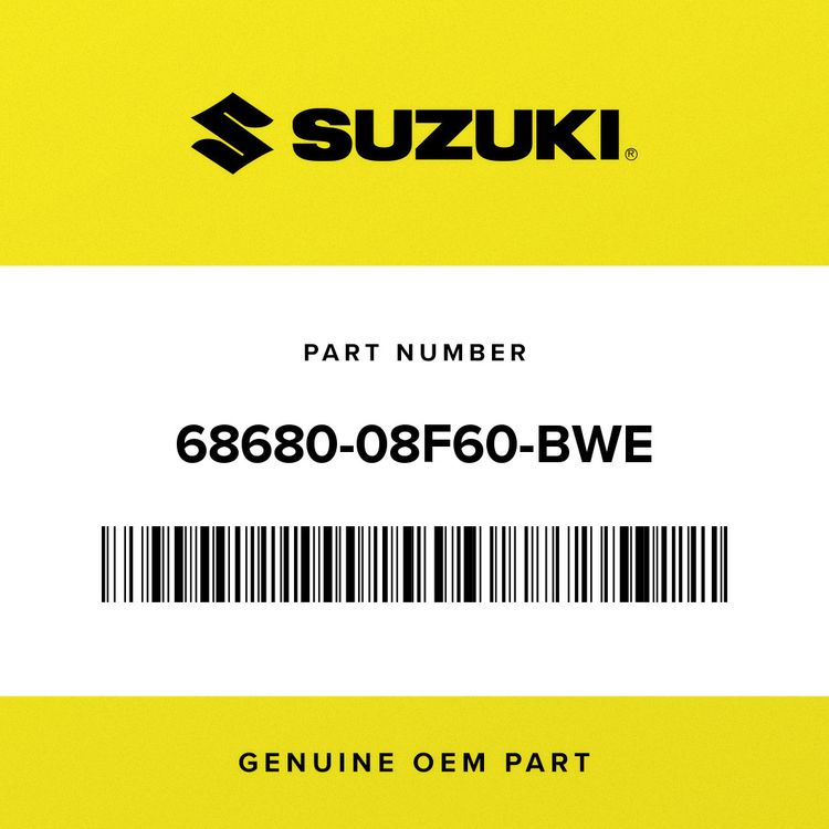 Suzuki TAPE, LOWER RH 68680-08F60-BWE