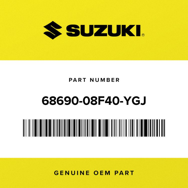 Suzuki TAPE, LOWER LH 68690-08F40-YGJ