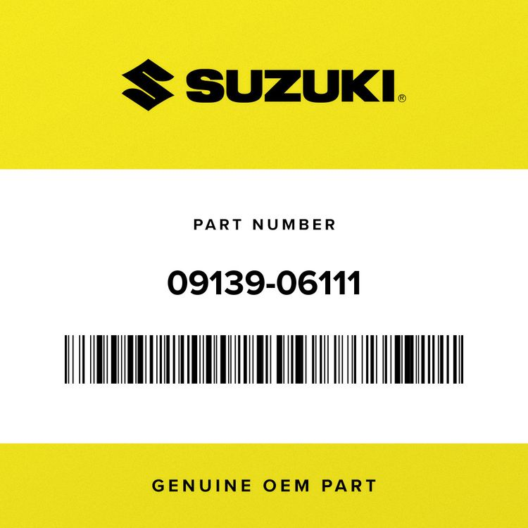 Suzuki SCREW (6X16) 09139-06111