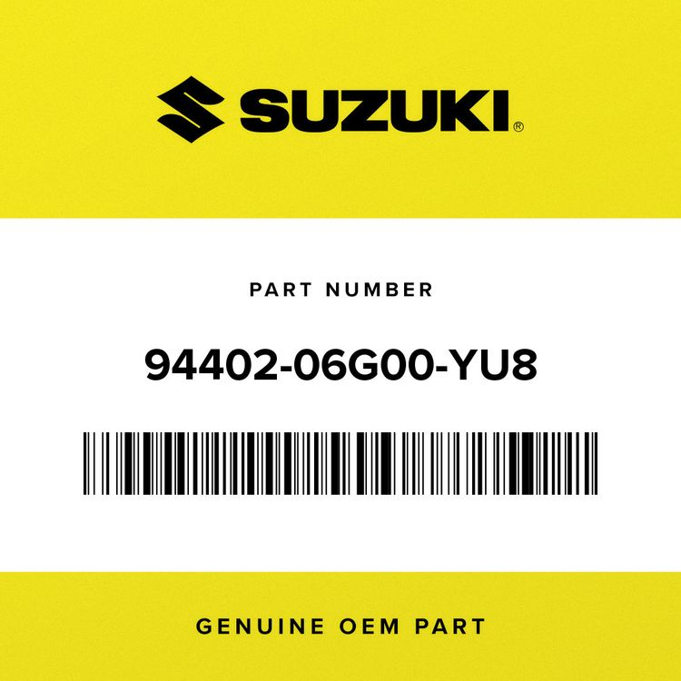 Suzuki COWL ASSY, SIDE RH (GRAY) 94402-06G00-YU8