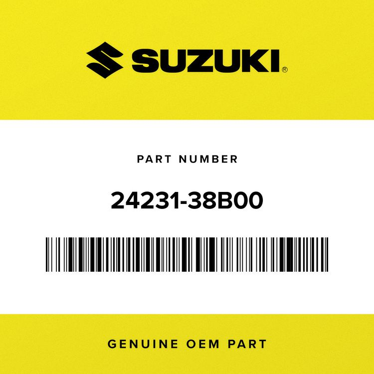 Suzuki GEAR, 3RD DRIVE (NT:21) 24231-38B00
