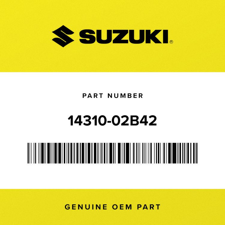 Suzuki MUFFLER, 1ST 14310-02B42