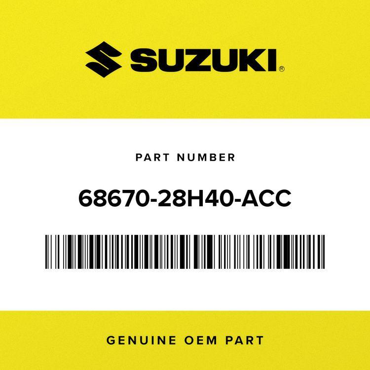 Suzuki TAPE, RADIATOR COVER  LH 68670-28H40-ACC