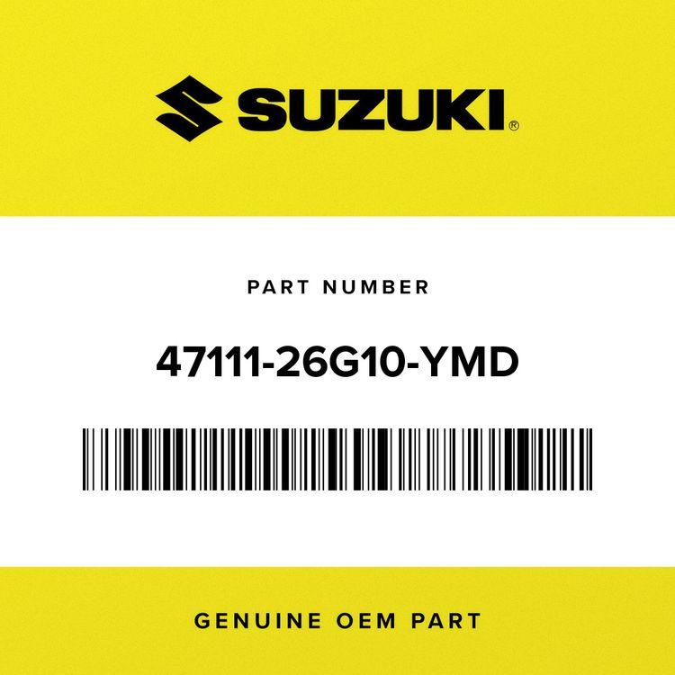 Suzuki COVER, FRAME RH (SILVER) 47111-26G10-YMD