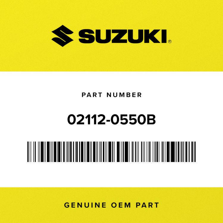 Suzuki SCREW 02112-0550B
