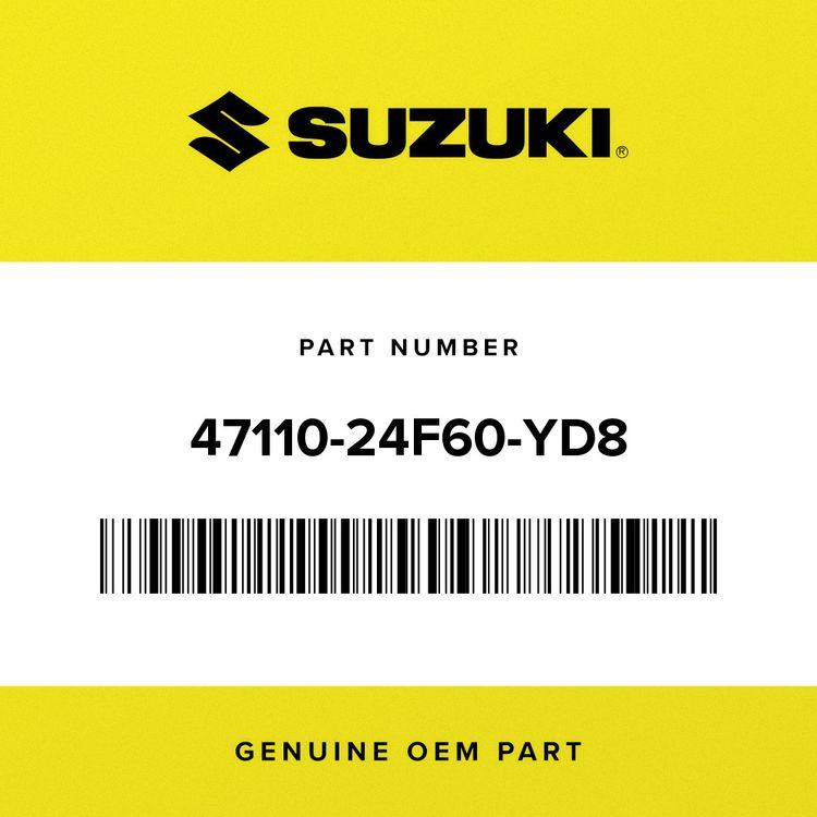Suzuki COVER, FRAME (SILVER) 47110-24F60-YD8
