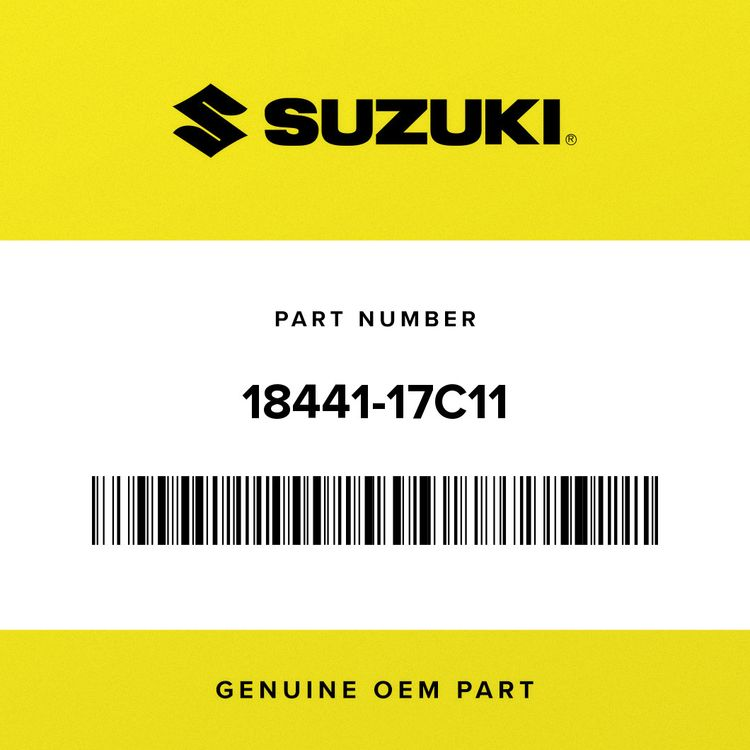 Suzuki GASKET, 2ND AIR PIPE 18441-17C11