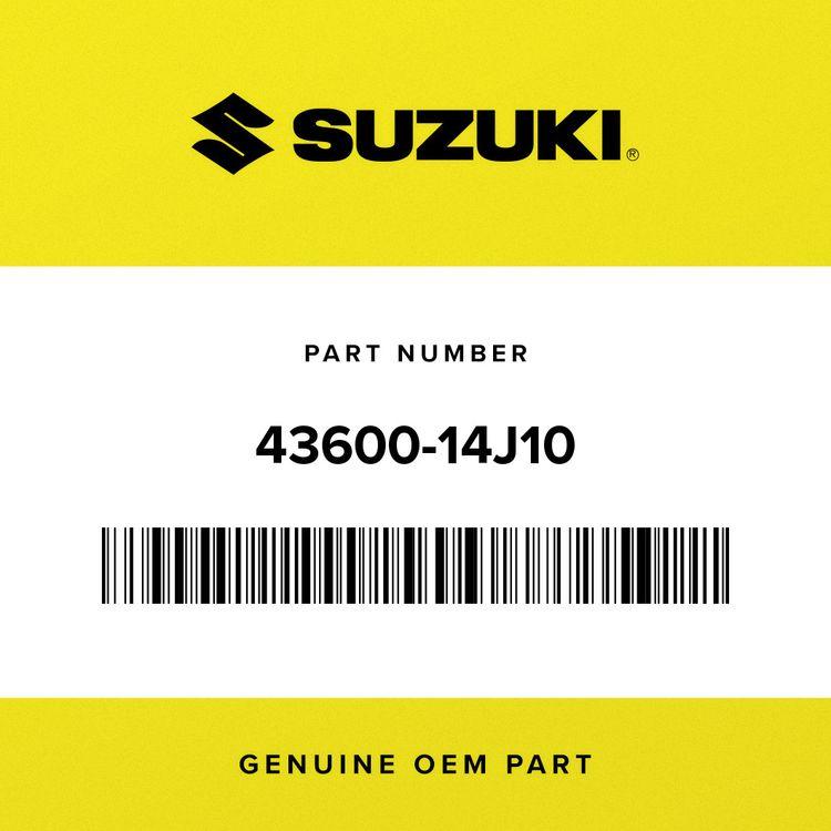 Suzuki FOOTREST, PILLION RH 43600-14J10