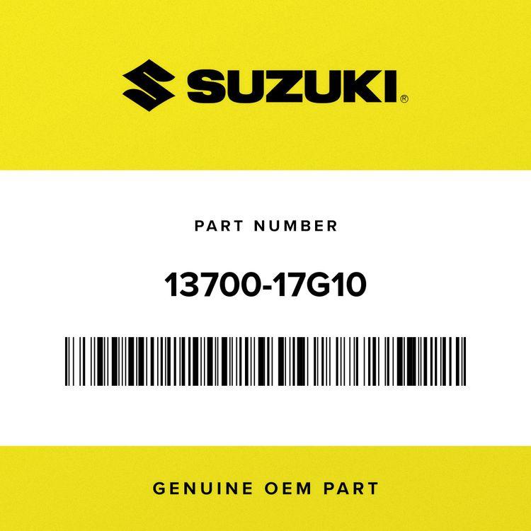 Suzuki CLEANER ASSY, AIR 13700-17G10