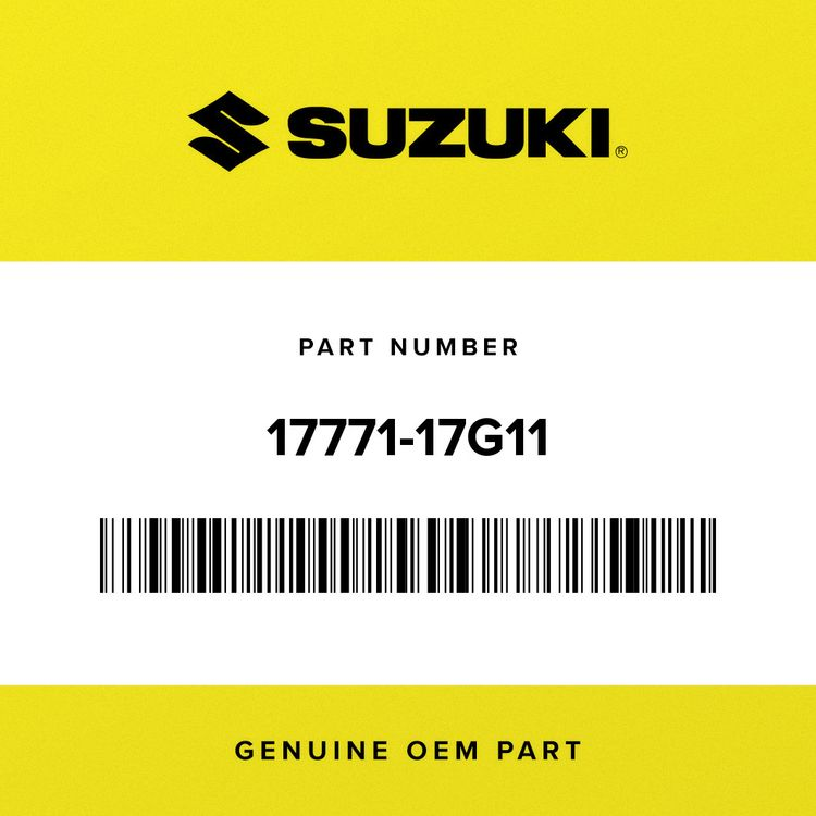Suzuki SHIELD, RADIATOR HEAT 17771-17G11