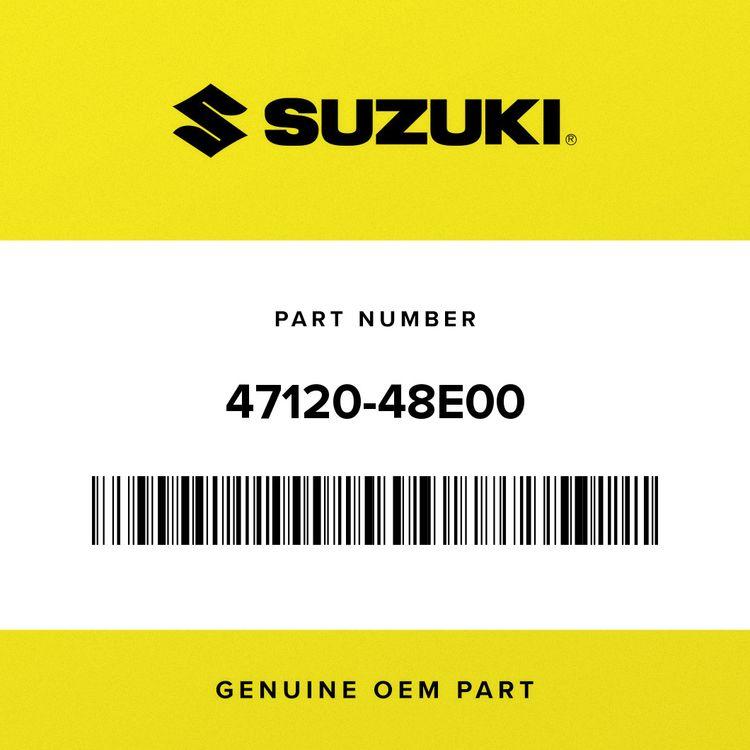 Suzuki COVER, FRAME REAR RH 47120-48E00