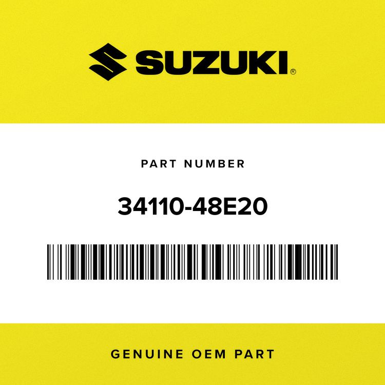 Suzuki SPEEDOMETER (MILE/KILO) 34110-48E20