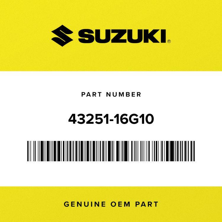 Suzuki BRACKET, STOP SWITCH 43251-16G10